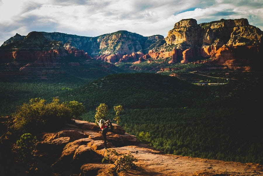 Red rock canyons in Sedona